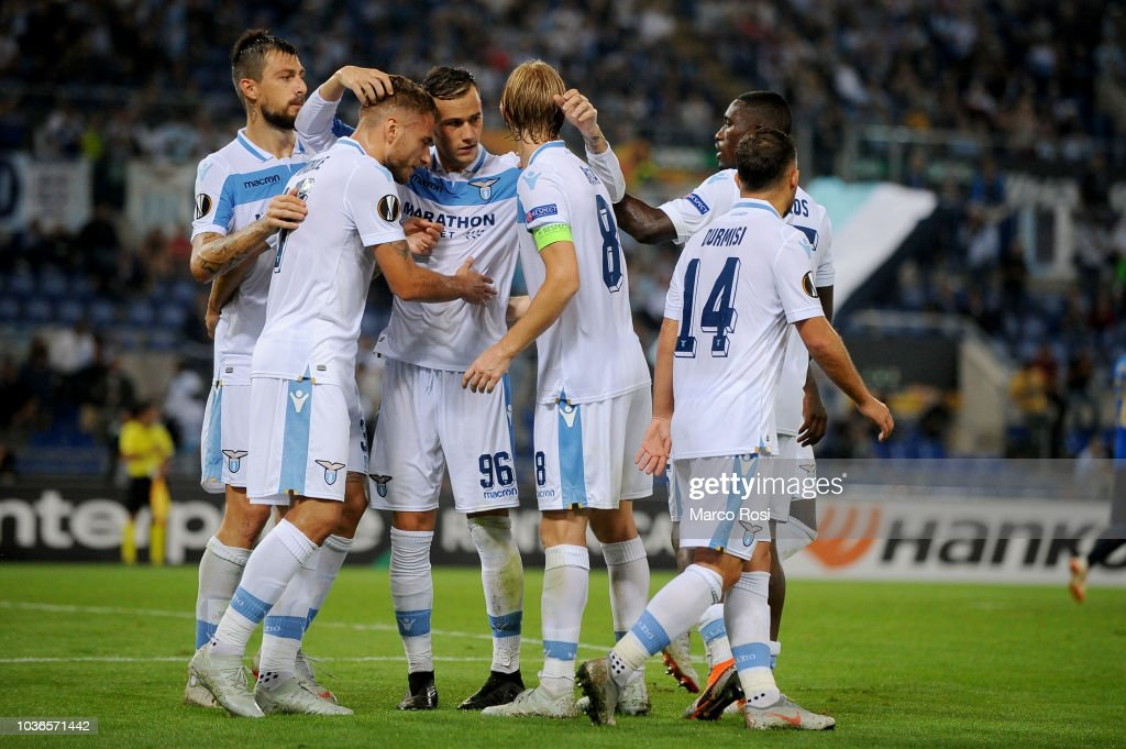 SS Lazio v Apollon Limassol - UEFA Europa League - Group H