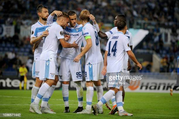 Senad Lulic during the Europe League football match SS Lazio vs Apollon at the Olympic Stadium in Rome on september 20 2018