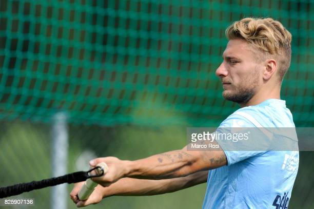 Ciro Immobile of SS Lazio during the SS Lazio Training Camp on August 3 2017 in Walchsee Austria