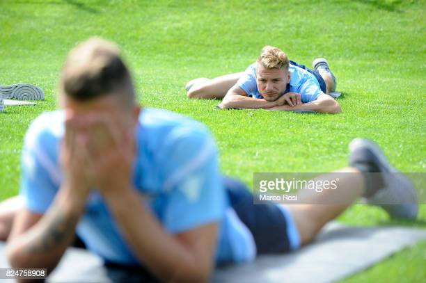 Ciro Immobile of SS Lazio during the SS Lazio Training Camp on July 31 2017 in Walchsee Austria