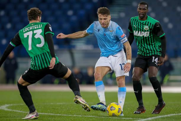 ITA: SS Lazio v US Sassuolo - Serie A