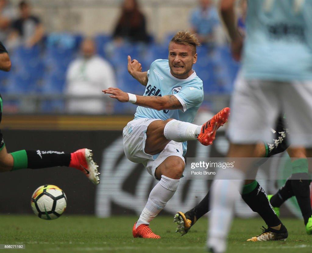 SS Lazio v US Sassuolo - Serie A : Foto di attualità