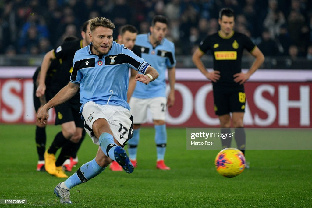 SS Lazio v FC Internazionale - Serie A : ニュース写真