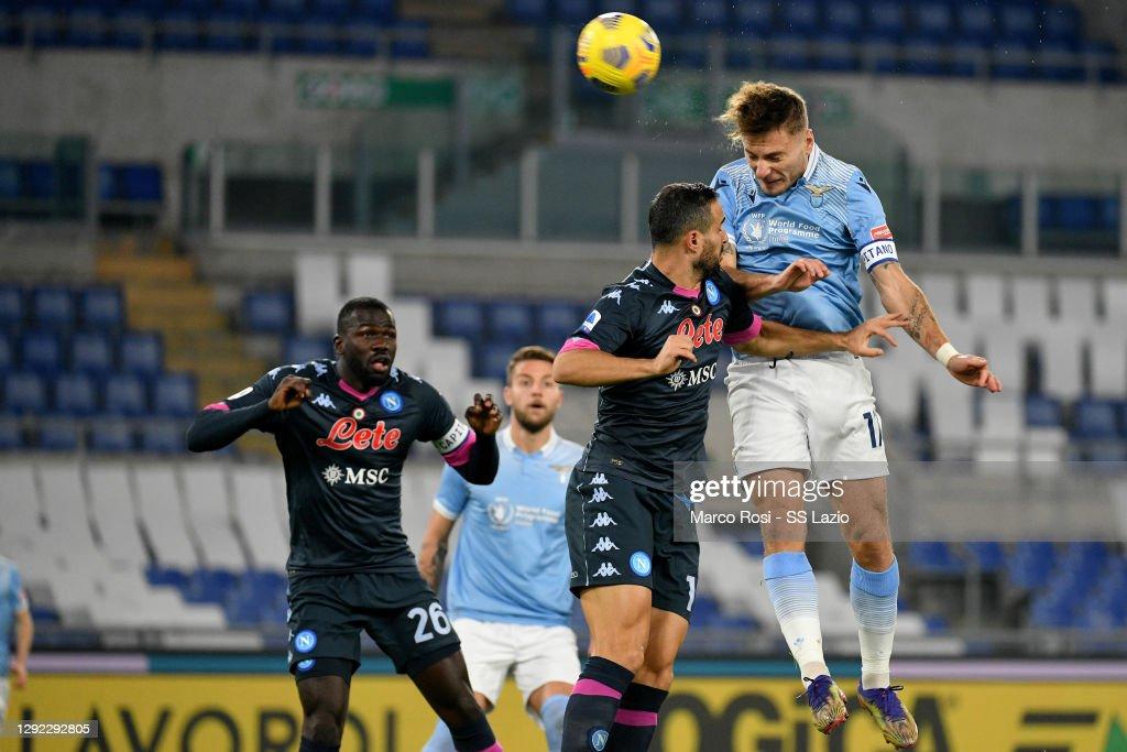 SS Lazio v SSC Napoli - Serie A : Fotografía de noticias