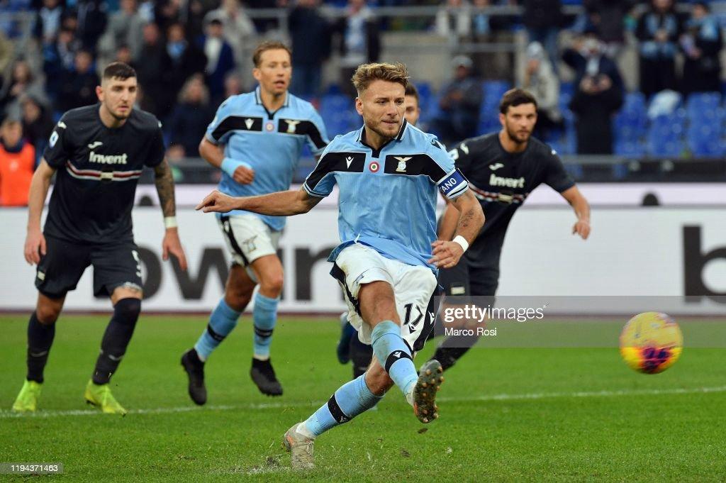 SS Lazio v UC Sampdoria - Serie A : ニュース写真