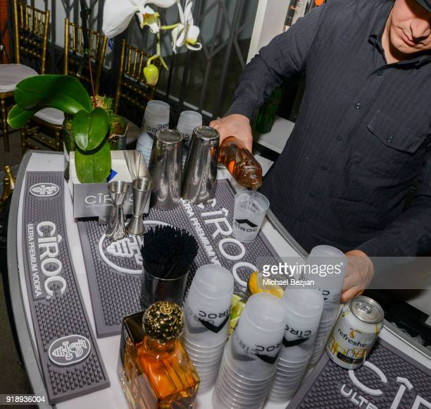 Ciroc at Amare Stoudemire hosts ART OF THE GAME art show presented by Sotheby's and Joseph Gross Gallery on February 15 2018 in Los Angeles California