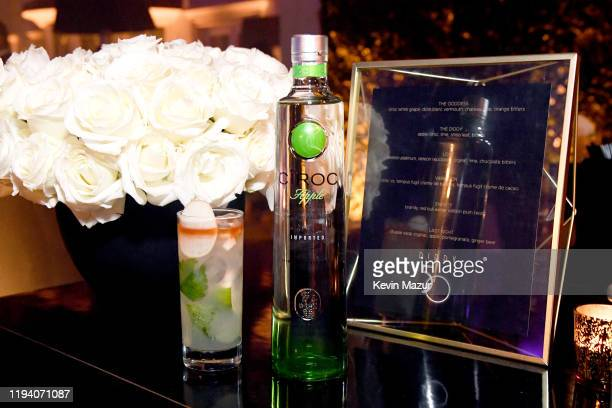 Ciroc Vodka on display at Sean Combs 50th Birthday Bash presented by Ciroc Vodka on December 14 2019 in Los Angeles California