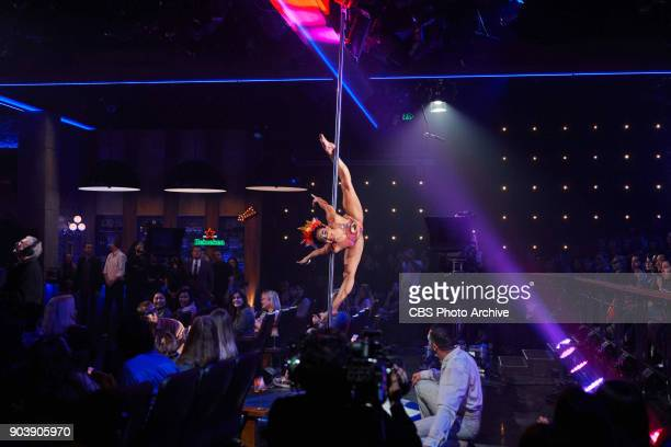Cirque Du Soleil Luzia performs during 'The Late Late Show with James Corden' Monday January 8 2018 On The CBS Television Network