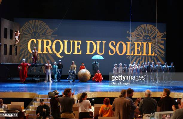 Cirque Du Soleil Performers Rehearse March 23 2002 For The 74Th Annual Academy Awards To Be Held At The Kodak Theatre March 24 2002 In West Hollywood...