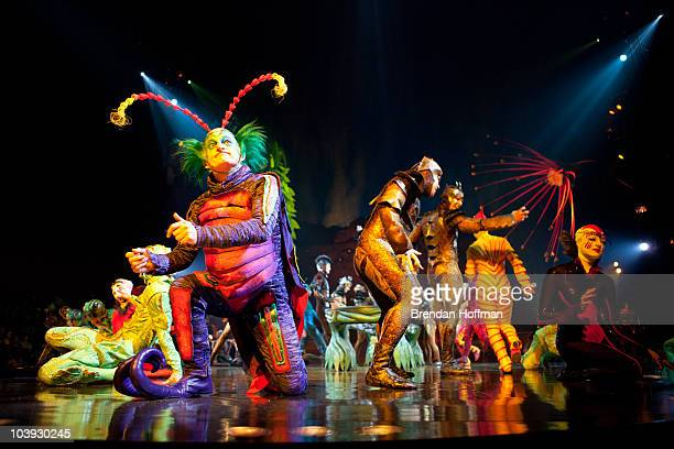"Cirque Du Soleil performs its newest production ""Ovo"" on September 8, 2010 in National Harbor, Maryland."