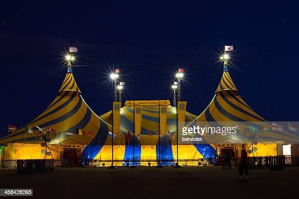 cirque du soleil - tendone di circo foto e immagini stock