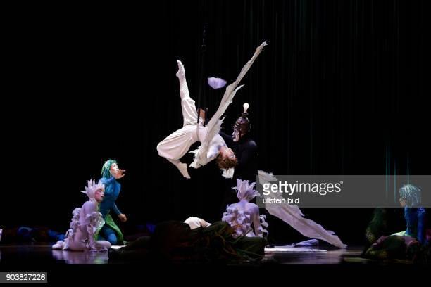 Cirque du Soleil Programm 'Varekai' Tief in einem Wald auf dem Gipfel eines Vulkans existiert eine ganz besondere Welt eine Welt in der alles möglich...