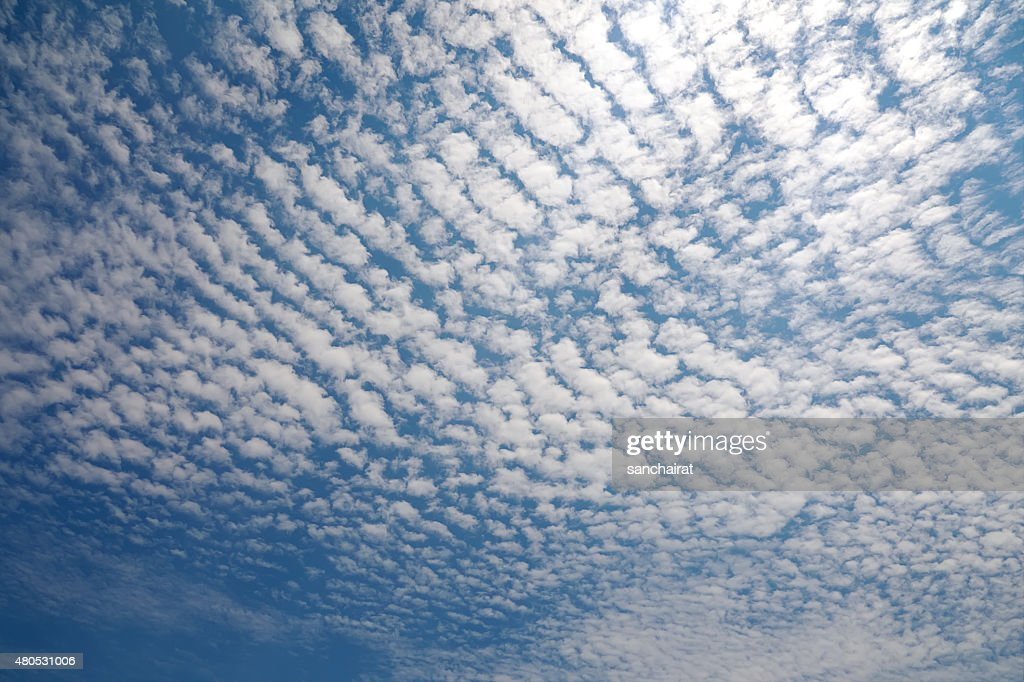 Cirrocumulus Cloud : Stock Photo