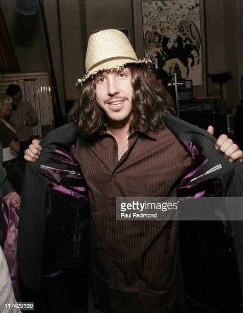 Cisco Adler of Whitestarr with Pirelli during The 49th Annual GRAMMY Awards GRAMMY Style Studio 2007 Day 3 at Ocean Way Recording Studios in Los...