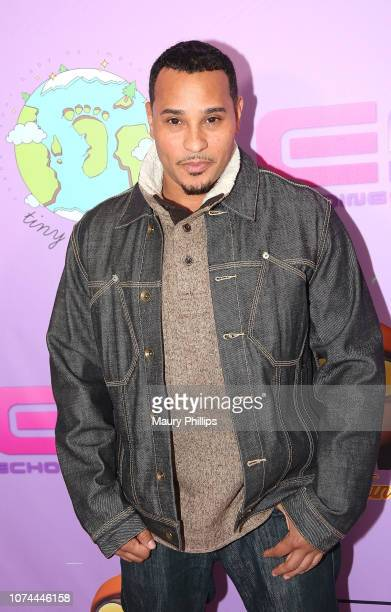 Cisco attends Echoing Soundz and Walter Mosley Firm Fa La La Holiday Bash on December 19 2018 in Los Angeles California