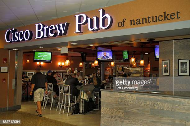 Cisco Brew Pub of Nantucket in Logan International Airport