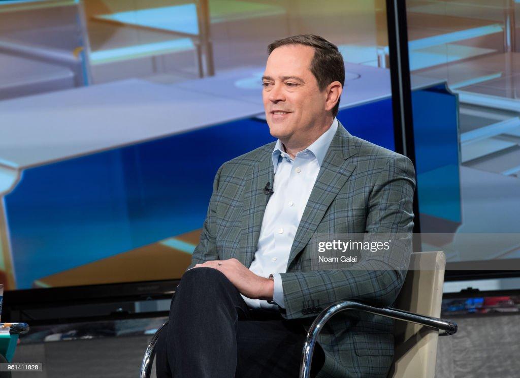 "Cisco CEO Chuck Robbins Visits ""Mornings With Maria"""