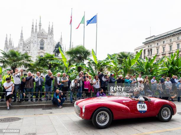 Cisitalia Colombo Barchetta during 1000 Miles Historic Road Race on May 19 2018 in Milan Italy