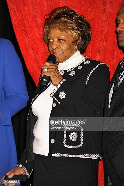 Cissy Houston attends as Madame Tussauds unveils four wax figures of Whitney Houston the first time four figures of the same individual have been...