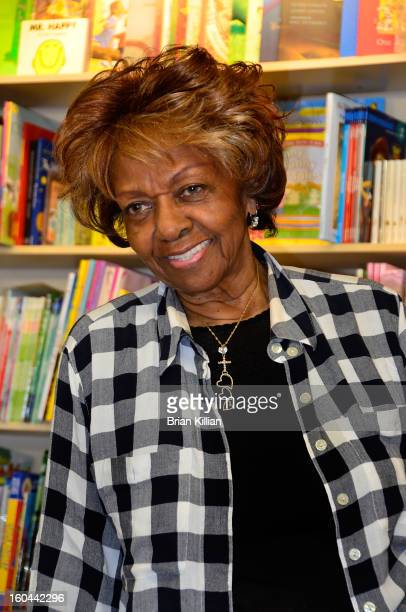 """Cissy Houston signs copies of her new book """"Remembering Whitney"""" at Bookends on January 31, 2013 in Ridgewood, New Jersey."""