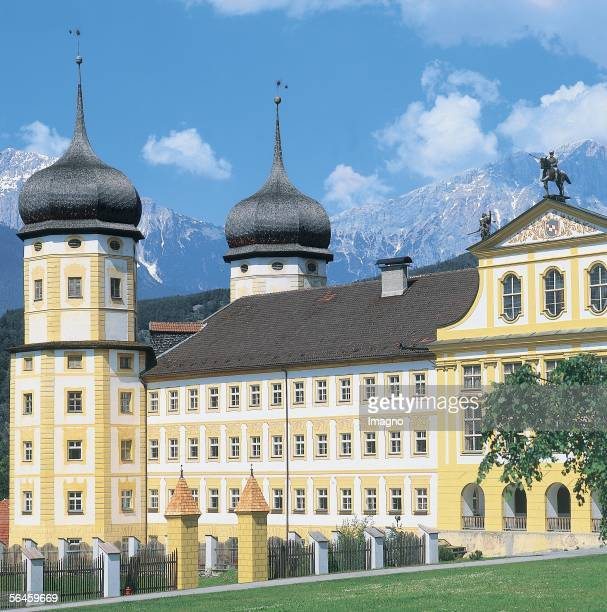 Cistercian monastery Stams in Tyrol Photography by Gerhard Trumler 1990 [Zisterzienserstift Stams in Tirol Photographie von Gerhard Trumler 1990]