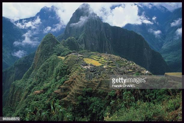 CIt? inca du Machu Picchu, P?rou.