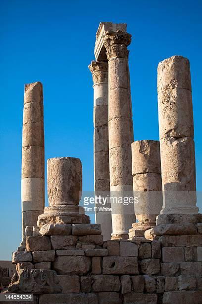 Citadel Amman, Jordan, Middle East