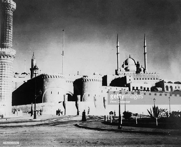 Citadel and Mohammed Ali Mosque Cairo Egypt late 19th or early 20th century Cairo's citadel was begun by Salah adDin in the 12th century but the...