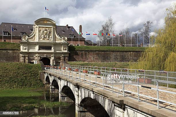 citadel of lille - lille france stock pictures, royalty-free photos & images