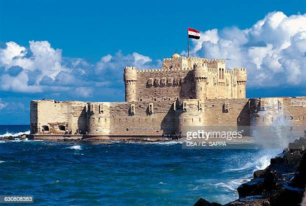 Citadel of Qaitbay Alexandria Egypt 15th century