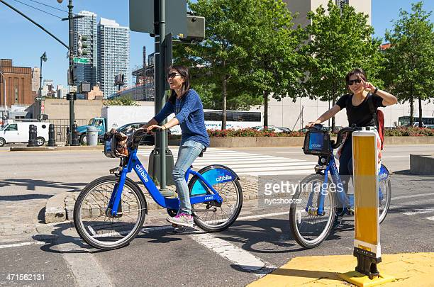 Citi bike bicycle rider