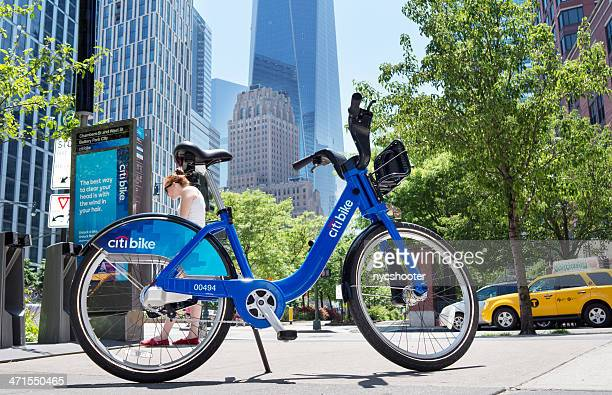 citi bike - citigroup stock pictures, royalty-free photos & images