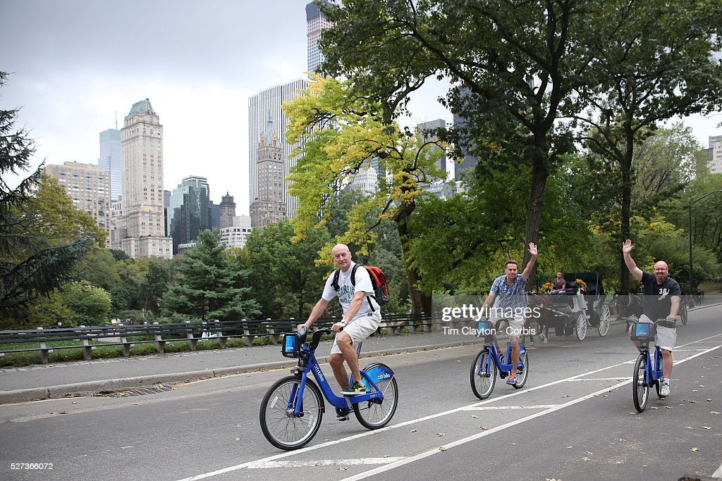 Usa New York City Citi Bike Bicycle Share Program Pictures