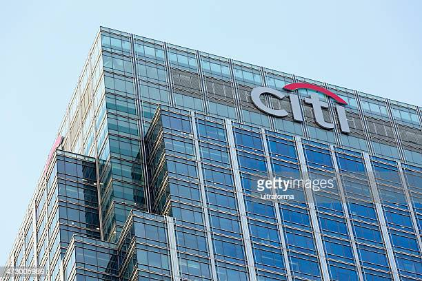 citi headquarters in london - citigroup stock pictures, royalty-free photos & images