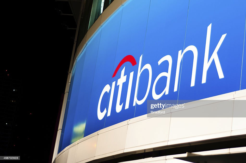 Citibank Logo Stock Photo - Getty Images