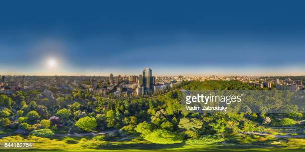 360 vr cities - hdri 360 ストックフォトと画像