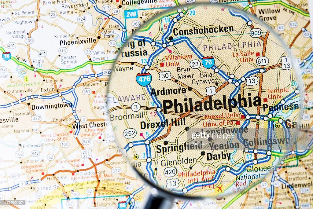 Httpsmediagettyimagescomphotoscitiesunder - Philadelphia map