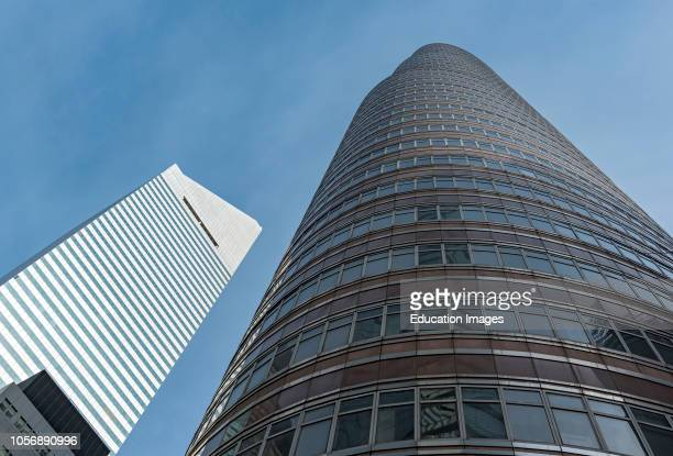 Citigroup Center at 601 Lexington Avenue and Lipstick Building 53rd at Third in Manhattan New York USA