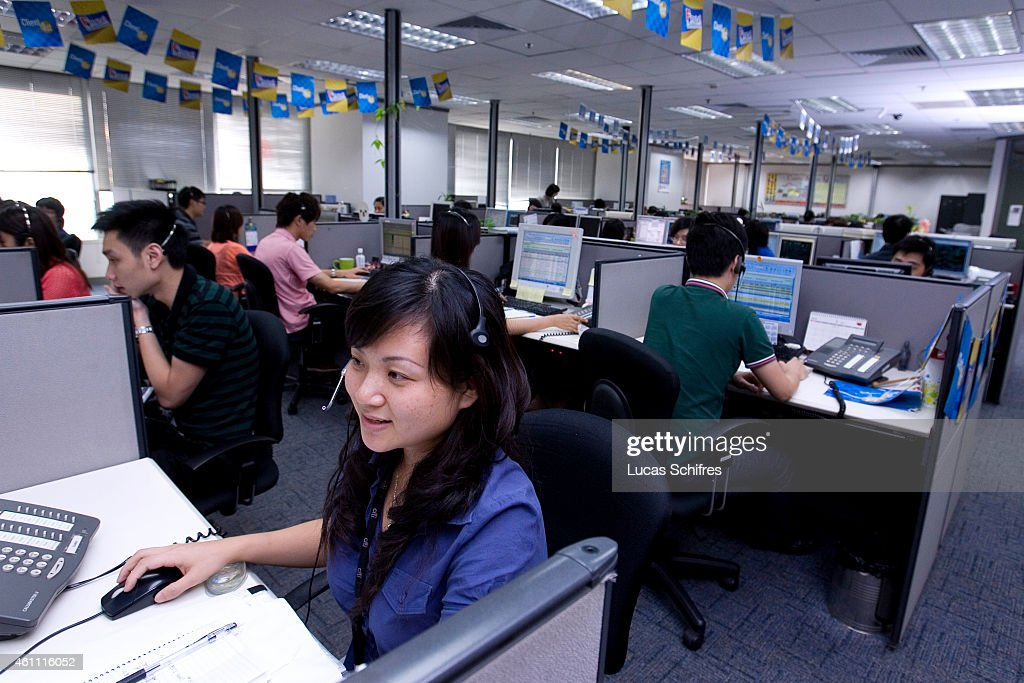 Citigroup Data Processing Center on May 26, 2010 in Guangzhou, Guangdong province, China.