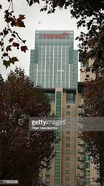 Citigroup's headquarters dominate the skyline at London's Docklands on November 5 2007 in Canary Wharf London England Chairman and chief executive of...
