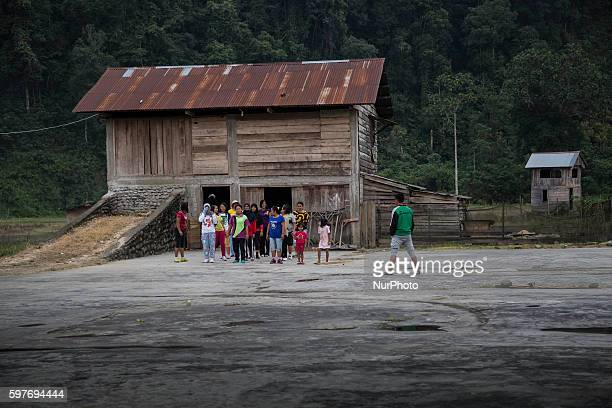Citizen and tourists of Padang West Sumatra Indonesia on 29 August 2016 The latest official estimate for January 2014 shows a population of 5790 West...