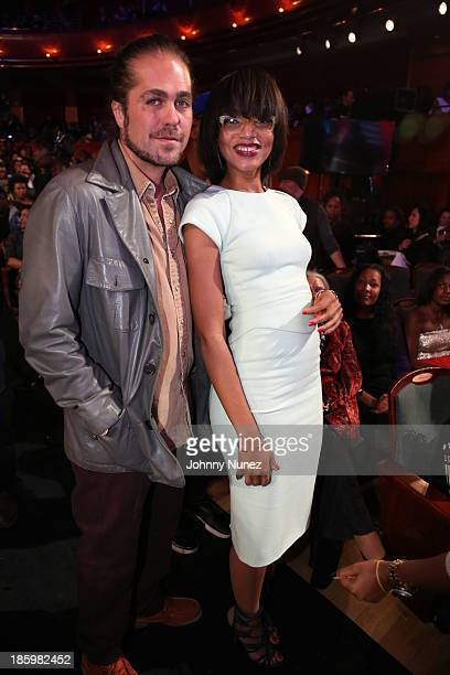 Citizen Cope and Alice Smith attend Black Girls Rock 2013 at New Jersey Performing Arts Center on October 26 2013 in Newark New Jersey