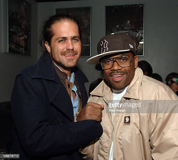 Citizen Cope and Damon Dash during Gisele Bundchen Performs with Chino Maurice at Stereo in New York City December 18 2005 at Stereo in New York City...