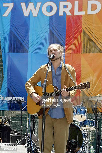Citizen Cope during Opening for 7 World Trade Center May 23 2006 at 7 World Trade Center in New York New York United States
