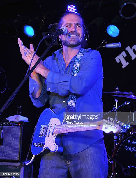 Citizen Cope performs at The Stone Pony on August 16 2012 in Asbury Park New Jersey