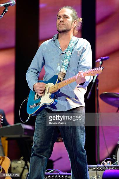 Citizen Cope performs on stage during the 2013 Crossroads Guitar Festival at Madison Square Garden on April 12 2013 in New York City