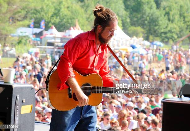 Citizen Cope performs on the Odeum Stage during the Rothbury Music Festival 08 on July 5 2008 in Rothbury Michigan