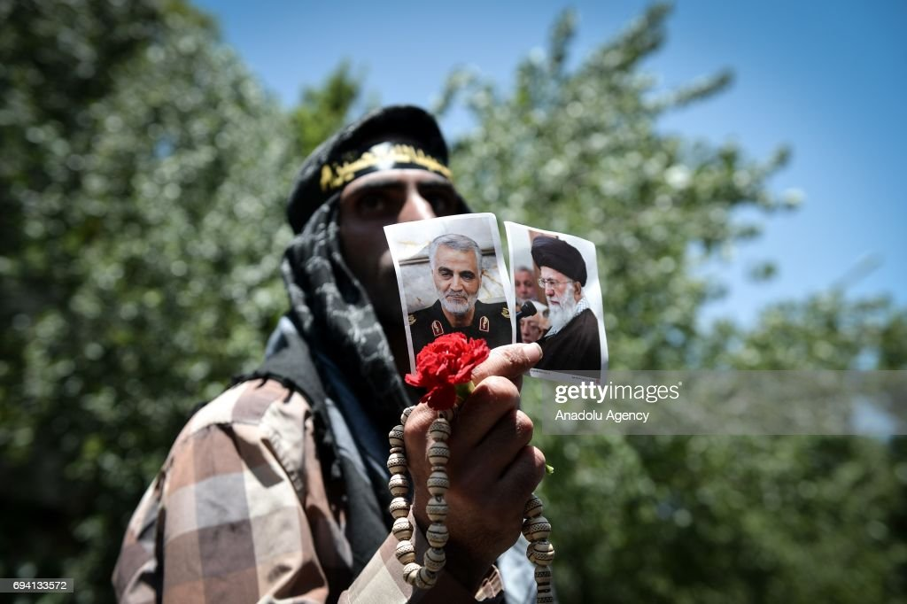 Attacks at Iranian parliament, Khomeini shrine : News Photo