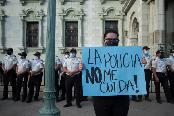 GTM: Demonstrations in Guatemala to Demand Alejandro Giammattei's Resignation