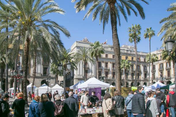 ESP: Sant Jordi 2021 In Barcelona